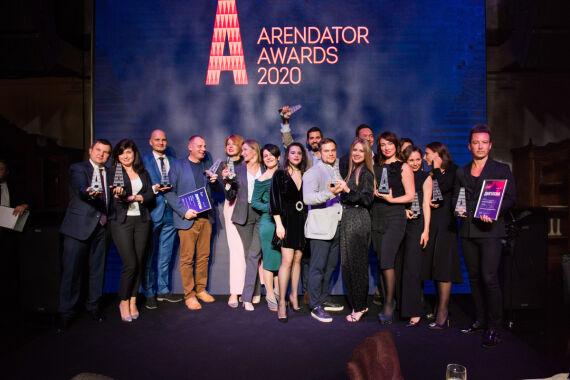 Церемония награждения премии Arendator Awards 2020
