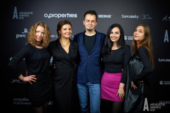 Первый фотоотчёт с церемонии награждения премии Arendator Awards 2021